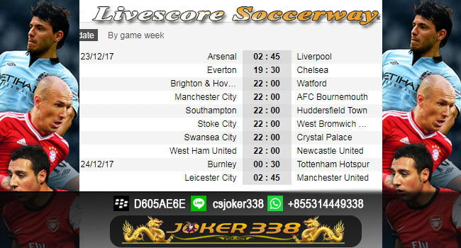 Agen Soccerway
